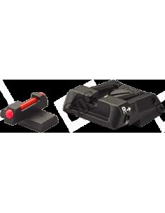 Hausse réglable LPA avec guidon fibre optique pour H&K P30, P45, SFP9, VP9, VP9 Striker