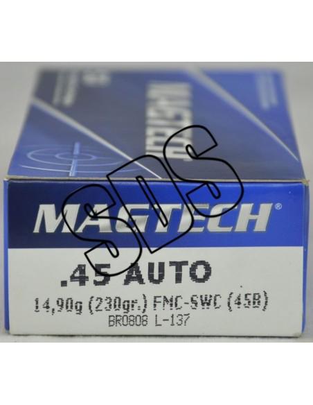 .45 ACP FMJ Magtech