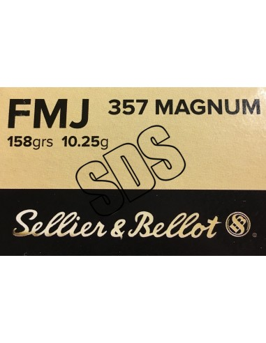 357 MAG FMJ SELLIER & BELLOT