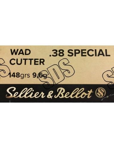 .38 Spécial Wad Cutter FMJ