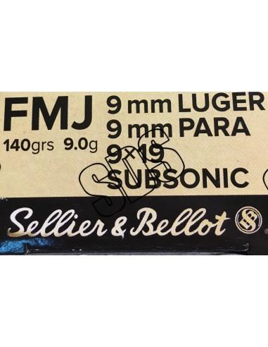 9 Para Subsonique SELLIER & BELLOT